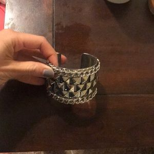 Jewelry - Silver statement cuff bracelet